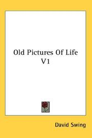 Cover of: Old Pictures Of Life V1