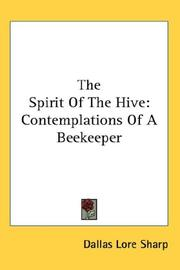 Cover of: The Spirit Of The Hive
