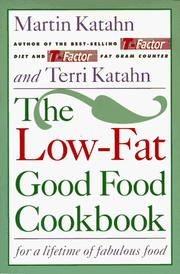 Cover of: The low-fat good food cookbook