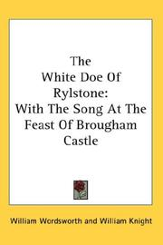 Cover of: The white doe of Rylstone
