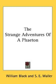 Cover of: The Strange Adventures Of A Phaeton