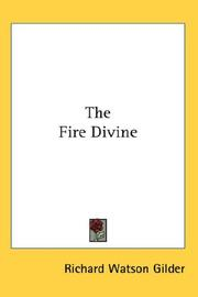 Cover of: The fire divine