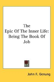 Cover of: The Epic Of The Inner Life | John F. Genung