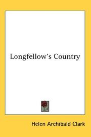 Cover of: Longfellow