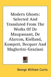 Cover of: Modern Ghosts