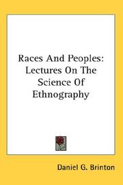 Cover of: Races And Peoples