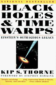 Cover of: Black holes and time warps