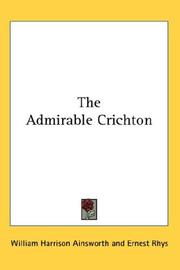 Cover of: The Admirable Crichton