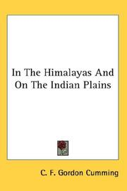 Cover of: In The Himalayas And On The Indian Plains