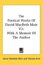 The Poetical Works Of David MacBeth Moir V2