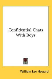 Cover of: Confidential Chats With Boys | William Lee Howard