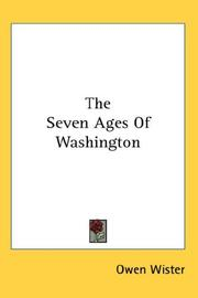 Cover of: The seven ages of Washington