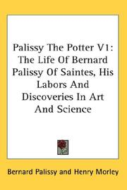 Cover of: Palissy The Potter V1