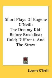Cover of: Short Plays Of Eugene O'Neill
