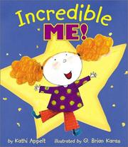 Cover of: Incredible me!