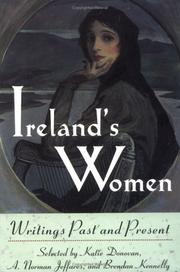 Cover of: Ireland's Women by Katie Donovan, A. Norman Jeffares, Kennelly, Brendan.
