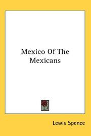 Cover of: Mexico Of The Mexicans