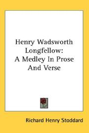 Cover of: Henry Wadsworth Longfellow