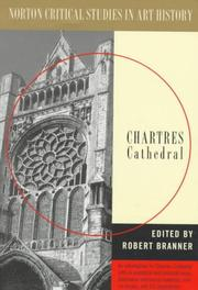 Cover of: Chartres Cathedral | Robert Branner