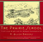 Cover of: The Prairie School
