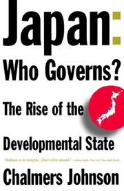 Cover of: Japan: Who Governs?