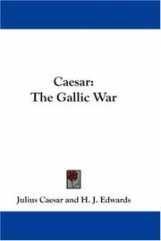 Cover of: Caesar