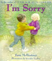 Cover of: I'm Sorry