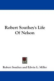 Cover of: Robert Southey's Life Of Nelson
