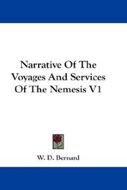 Cover of: Narrative Of The Voyages And Services Of The Nemesis V1