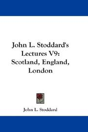 Cover of: John L. Stoddard's Lectures V9