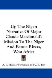 Cover of: Up The Niger | A. F. Mockler-Ferryman