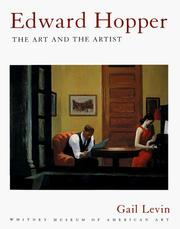 Cover of: Edward Hopper | Gail Levin