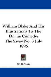 William Blake And His Illustrations To The Divine Comedy