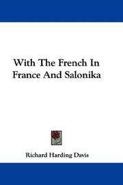 Cover of: With The French In France And Salonika