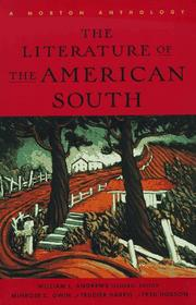 Cover of: The Literature of the American South |