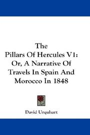 Cover of: The Pillars Of Hercules V1