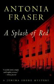 Cover of: Splash of Red (Jemima Shore Mysteries)