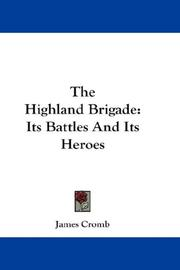 Cover of: The Highland Brigade | James Cromb