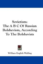 Cover of: Sovietism