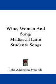 Cover of: Wine, Women And Song