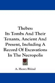 Cover of: Thebes