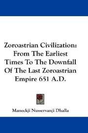 Zoroastrian Civilization