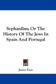 Sephardim; Or The History Of The Jews In Spain And Portugal