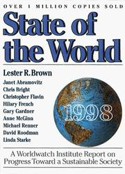 Cover of: State of the World 1998 | Lester Russell Brown