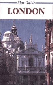 Cover of: Blue Guide London (16th ed)