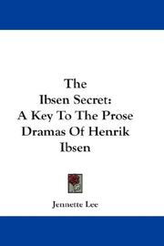 Cover of: The Ibsen secret