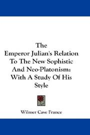 Cover of: The Emperor Julian