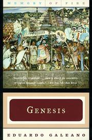 Cover of: Genesis (Memory of Fire Trilogy, Part 1) by Eduardo Galeano