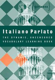 Cover of: Italiano parlato | Adrienne.