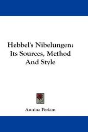 Cover of: Hebbel